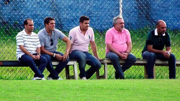 Marcelo Guimarães Filho e Paulo Angioni em treino do Bahia (Foto: Divulgação/Site oficial do EC Bahia)