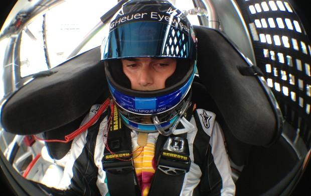 Com quatro poles, Nelsinho Piquet lidera o ranking classificatório da Truck Series em 2012 (Foto: Divulgação)