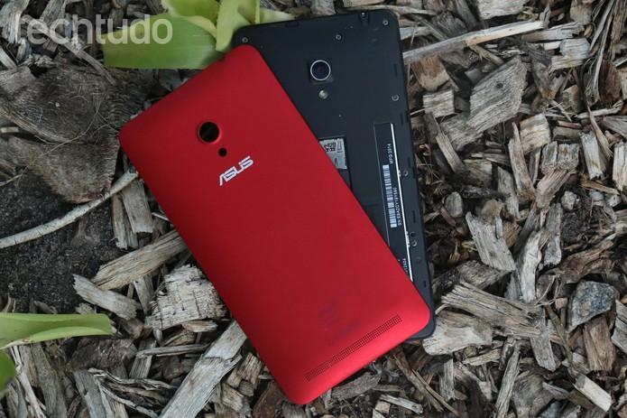Apesar dos 3.300 mAh, a bateria do Zenfone 6 pode não durar o dia todo (Foto: Lucas Mendes/TechTudo)