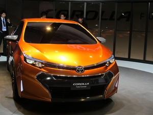 Toyota Corolla Furia Concept (Foto: Luciana de Oliveira/G1)