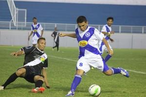 Amax e Vasco se enfrentam no estádio Florestão (Foto: João Paulo Maia)