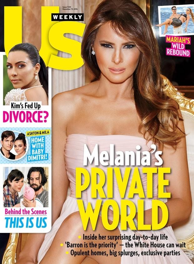 Capa da US Weekly com notícia sobre o divórcio de Kim Kardashian e Kanye West (Foto: Divulgação)