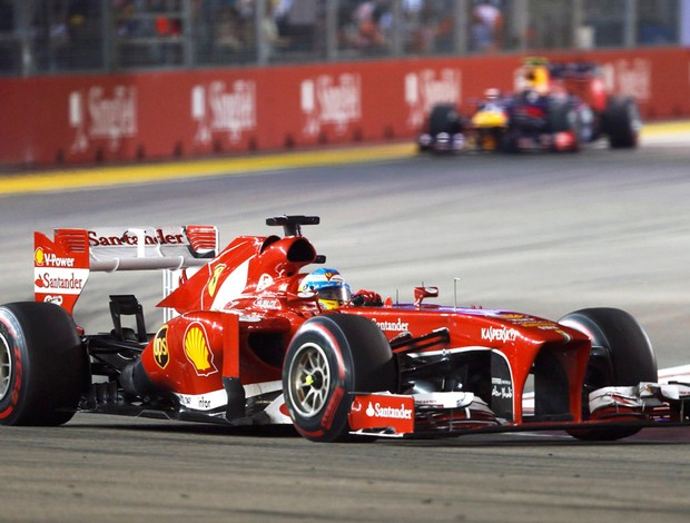 alonso cingapura formula 1 (Foto: Reuters)