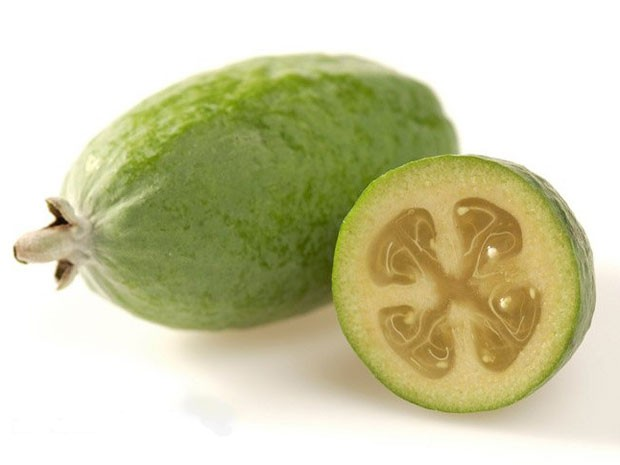 A feijoa &#233; uma das esp&#233;cies em pesquisa na parte brasileira do projeto. (Foto: HortResearch/Divulga&#231;&#227;o)
