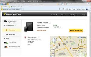 Complemento que para os produtos Tablet Security e Norton Mobile Security (Foto: Reprodução)