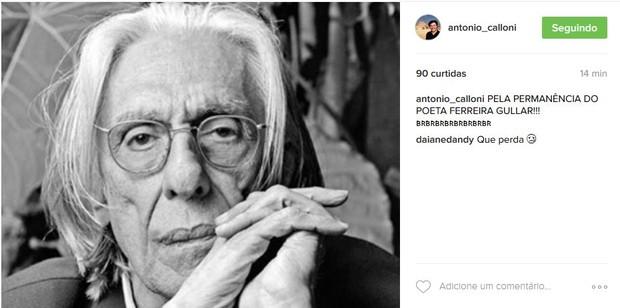 Antônio calloni (Foto: Reprodução/Instagram)