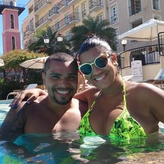 Naldo e Moranguinho (Foto: Reprodução/ Instagram)
