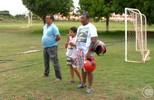 River-PI faz treino com companhia de torcedores