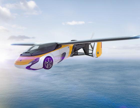 Aeromobil,carro voador eslovaco.O país do leste europeu se tornou um polo de inovação (Foto: Divulgação)