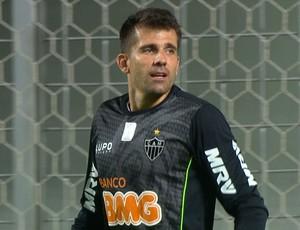 Victor, goleiro do Atlético-MG (Foto: Reprodução / TV Globo Minas)