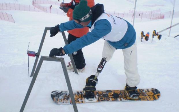 snowboard André Cintra paralímpico (Foto: CBDN)
