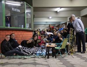 Fila Mogi das Cruzes x Flamengo - NBB (Foto: Guilherme Peixinho)