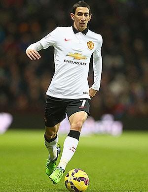Di Maria, Manchester United x Aston Villa (Foto: Getty Images)
