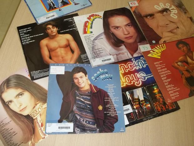 """Dentro do gênero """"trilhas sonoras"""" há vários títulos de novelas (Foto: Felipe Néri / G1)"""