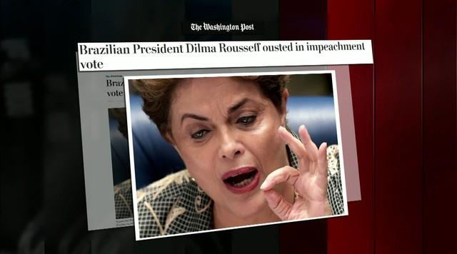 Impeachment de Dilma Rousseff tem forte repercussão nos Estados Unidos