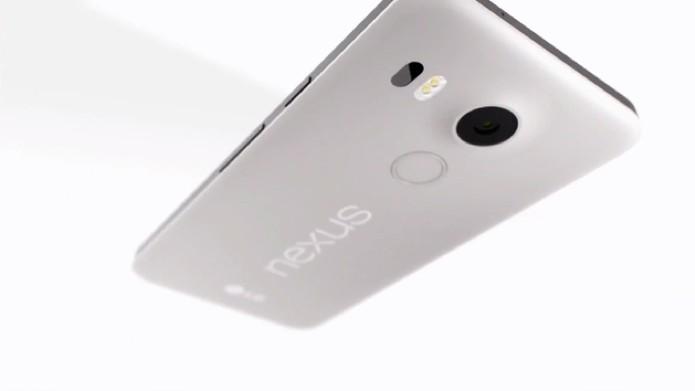 Nexus 5X conta com processador compatível com a arquitetura de 64 bits (Foto: Reprodução/Google)