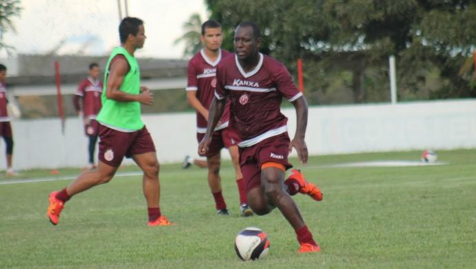 América-RN - Ives - volante (Foto: Canindé Pereira/América FC)
