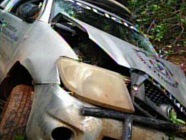 Acidente aconteceu na BR-042 na cidade de Marco, interior do Ceará (Foto: Reprodução/TV Verdes Mares)