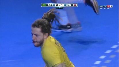 Gol do Brasil! Fabio Chiuffa empata, a 1 do 1º tempo