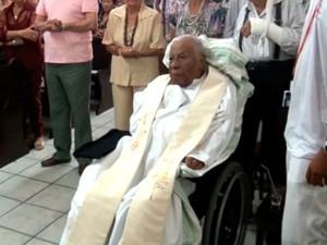 Monsenhor Gaspar Sadoc (Foto: Reprodução/TV Bahia)