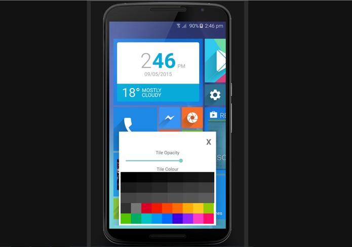 WLauncher permite personalizações e widgets (Foto: Divulgação/Reddit)