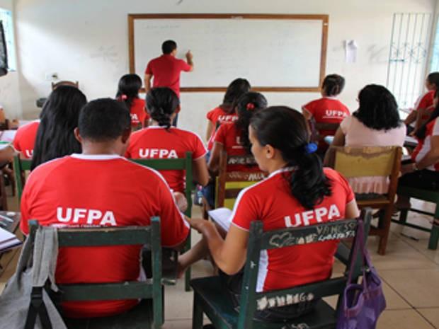 Programa permite acesso de professores da rede pública de educação básica ao ensino superior. (Foto: Divulgação/UFPA)