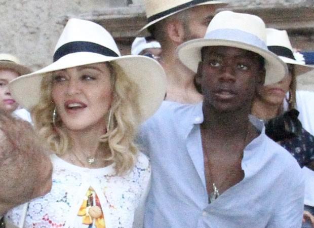 Madonna e David Banda (Foto: AKM/GSI)