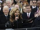 Beyoncé fez playback ao cantar hino em posse de Obama, diz jornal