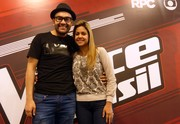 Willian San'Per The Voice e Graciela (Foto: Divulgação/ RPC)