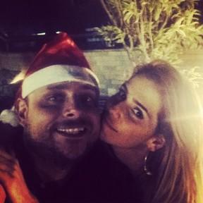 Produtor Leo Fuchs e Deborah Secco em festa no Rio (Foto: Instagram/ Reprodução)