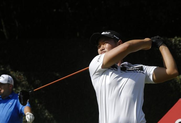 Lee afirma que gosta muito do São Paulo Golf Club, onde jogará o Brasil Champions (Foto: Zeca Resendes)