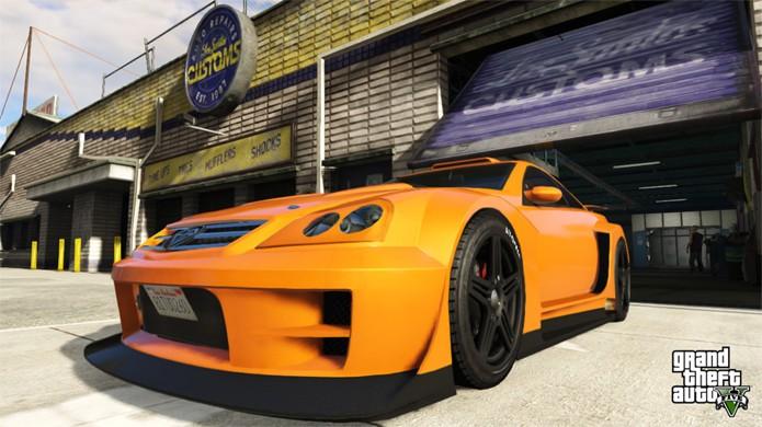 Carros de GTA 5 estão incrivelmente resistentes devido a bug na última atualização (Foto: Reprodução/US Gamer)