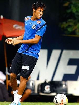 Neymar treino Santos (Foto: Ricardo Saibun / Divulgação Santos FC)