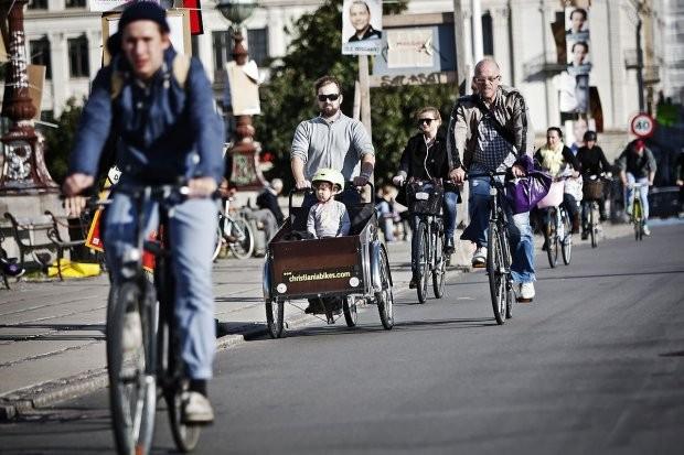 Ciclistas poderão alugar bicicletas uns dos outros na Dinamarca (Foto: Donkey Republic (Reprodução))
