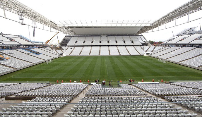 Arena Corinthians entregue Copa (Foto: EFE)