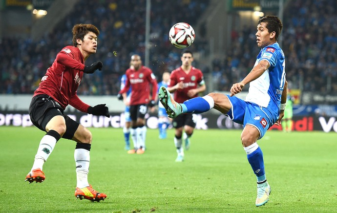 Firmino,  hoffenheim X hannover  (Foto: Getty Images)