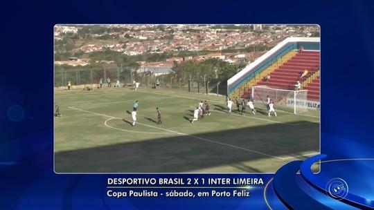 Desportivo Brasil vence a Inter e assume liderança de grupo na Copa Paulista