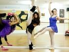 Na ponta do pé! Bailarinas do Faustão falam sobre a dedicação à dança