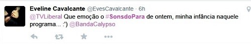 Sons do Pará 2014 (Foto: Reprodução/Twitter)