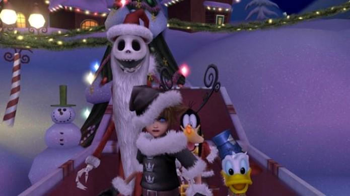 O que é isso? O Estranho Mundo de Jack em Kingdom Hearts HD 2.5 Remix (Foto: GamrReview)