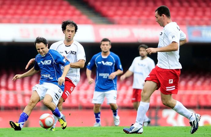Felipe Massa pilotos futebol (Foto: Marcos Ribolli / Globoesporte.com)