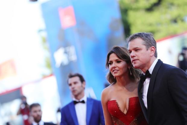 Matt Damon e sua esposa, Luciana Damon (Foto: Vittorio Zunino Celotto/Getty Images)