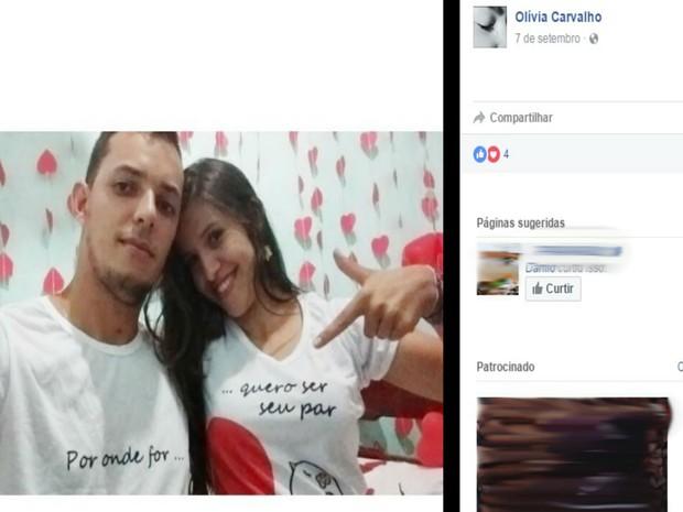 Jovem é morto e noiva fica ferida em crime de latrocínio na Bahia (Foto: Reprodução / Facebook)
