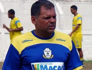 Técnico do Macaé, Toninho Andrade (Foto: Tiago Ferreira / Assessoria)
