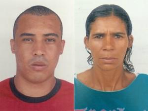 Polícia divulgou fotografias dos dois principais suspeitos de abuso sexual e cárcere privado de jovem (Foto: Divulgação/Polícia Civil)