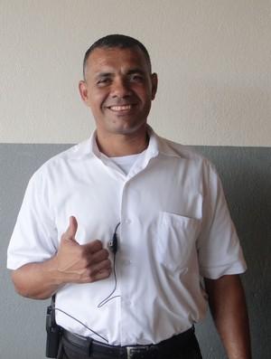 Ex-zagueiro do CSA, Márcio Pereira relembra atuação história contra o Estudiantes da Venezuela (Foto: Caio Lorena / Globoesporte.com)
