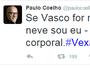 Paulo Coelho diz que vai ficar nu caso Vasco seja rebaixado: 'Sem pintura'