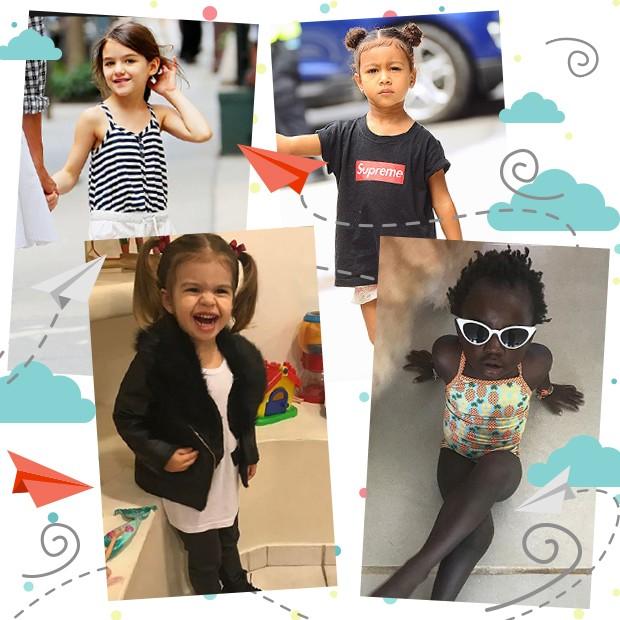 Crianças famosas: inspire-se nos estilos! (Foto: Divulgação)