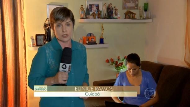 Jornal Hoje (Foto: reprodução/TVCA)