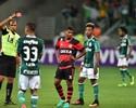 Expulsão de Márcio Araújo contra Palmeiras divide jornalistas do SporTV